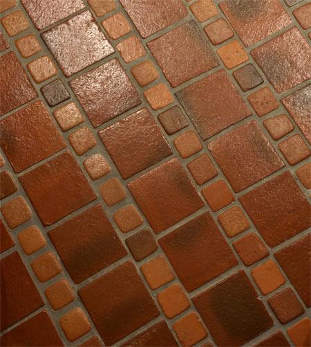 terakota na podłodze