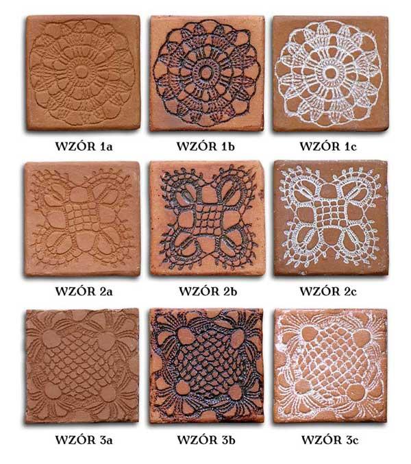 Dekory ceramiczne KORONKA